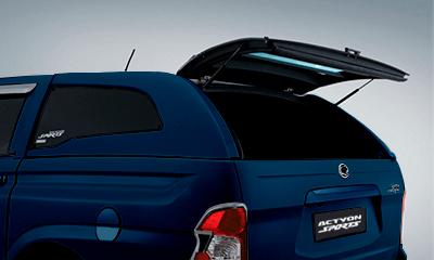 Cúpula azul para camioneta Actyon Sports