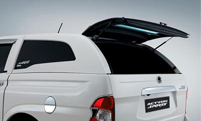 Cúpula blanca para camioneta Actyon Sports