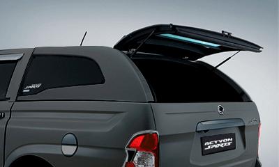 Cúpula gris para camioneta Actyon Sports