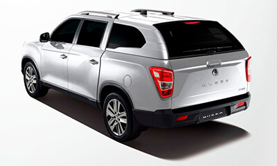 Camioneta Musso Blanca SsangYong