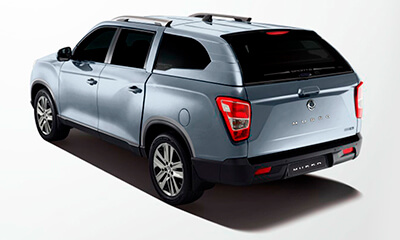 Camioneta Musso Plata SsangYong